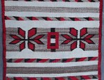 Navajo Pictorial Saddle Blanket