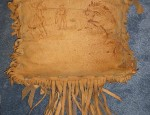 Leather Bronc Pillow