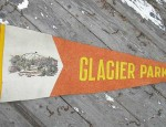 (Sold) Glacier National Park Pennant