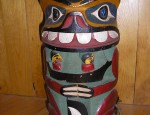 Haida Totem Night Light