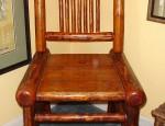 Ranch Log Chair