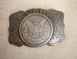 Newman's Silver Dollar Buckle
