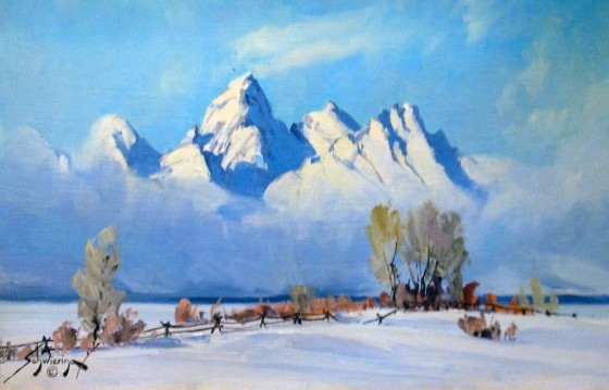 (Sold) – Conrad Schwiering – Teton Winter