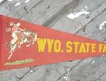 (Sold) Wyoming State Fair Pennant