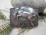 In Stock – Susan Adams – Sterling Horse Buckle