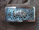 In Stock – Clint Orms – Filigree Buffalo Buckle