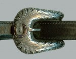 Clint Orms Horseshoe Ranger Buckle