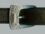 Clint Orms Shield and Engraved Ranger Buckle