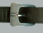 Clint Orms Sterling Wheat Grass Ranger Buckle