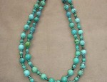 Susan Adams Double Turquoise Necklace