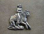 Susan Adams Cowgirl Pin