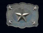 Susan Adams Scalloped Star Buckle