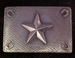 Susan Adams Square Star Buckle