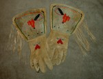 (Sold) Pictorial Plateau Gauntlets