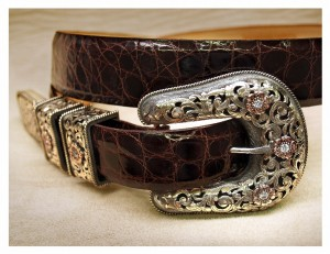 This Clint Orms Buckle on Alligator Was Made For Bruce Springsteen. If You Have to Ask, You Can't Afford It!