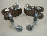 G.S.G. Marked Cowgirl Spurs