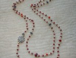 Susan Adams Beaded Rowel Necklace
