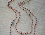 Susan Adams Beaded Rowel Necklace