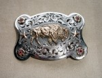 Clint Orms Buffalo Trophy Buckle