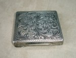 Engraved Sterling Compact