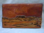 "Jack Neal – Wood Carved ""Butte"""