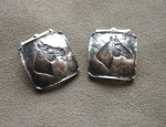 In Stock – Clint Orms – Sterling Horse Cufflinks