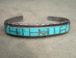 Narrow Zuni Inlay Bracelet
