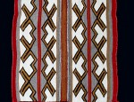 Navajo, Crystal Area, Single Saddle Blanket