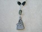 Dawn Bryfogle Vintage Fishing Creel Necklace