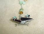 Dawn Bryfogle Vintage Zuni Road Runner Necklace