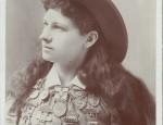 Vintage Annie Oakley Cabinet Card