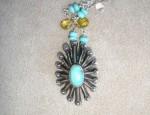 "Dawn Bryfogle Vintage Navajo ""Spider"" Necklace"