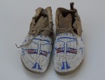 Cheyenne Child's Pictorial Moccasins