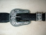 Clint Orms Sterling Bronc Rider Ranger Buckle