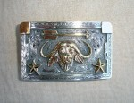 Clint Orms 14K Water Buffalo Trophy Buckle