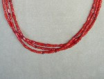 Susan Adams Coral & Ruby Necklace