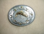 Susan Adams Leaping Trout Buckle