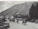 Jackson Hole Real Photo Postcard – Rodeo Parade