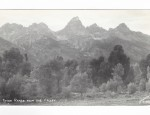 Grand Teton Real Photo Postcard – Tetons