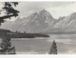 Grand Teton Real Photo Postcard – Jackson Lake