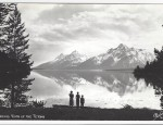 Grand Teton Real Photo Postcard – Evening