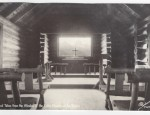 Grand Teton Real Photo Postcard – Church