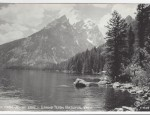 Grand Teton Real Photo Postcard – Jenny Lake