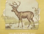 Bemis Bros. Calendar Lithograph &#8211; Mule Deer