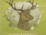 Bemis Calendar Lithograph &#8211; Elk