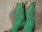 Hyer Green Suede Boots