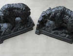 (Sold) Grizzly Bear Bookends