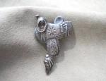 (Sold) – Navajo Saddle Pin