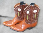 Justin Flower and Vine Boots