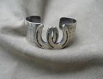 Susan Adams Double Horseshoe Cuff Bracelet
